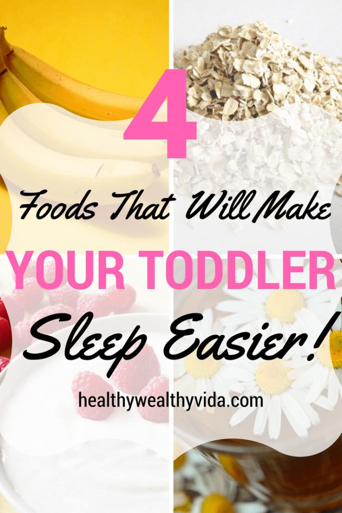 Sleep promoting foods