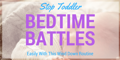 Toddler Sleep Bedtime Routine