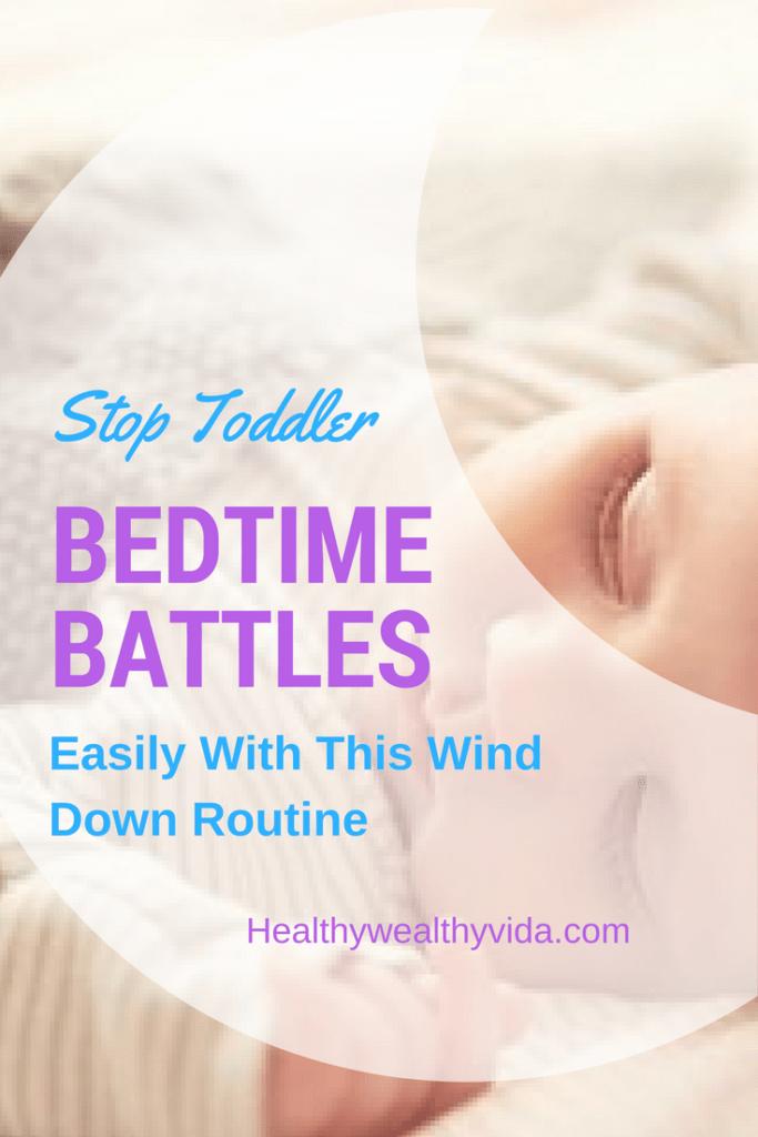 Toddler Sleep Wind Down Routine