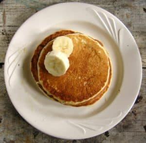 Banana Oatmeal Pancake