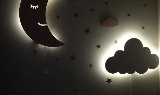 Toddler bedtime routine nightlight
