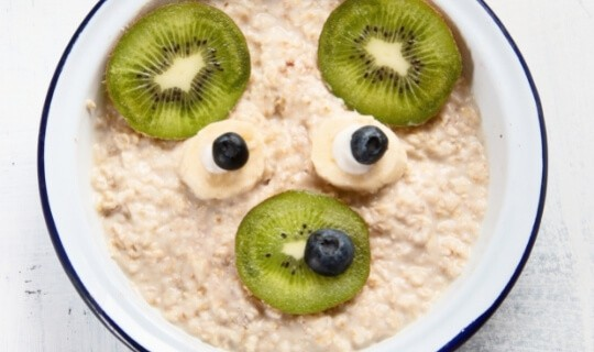 sleepy time oatmeal for toddlers