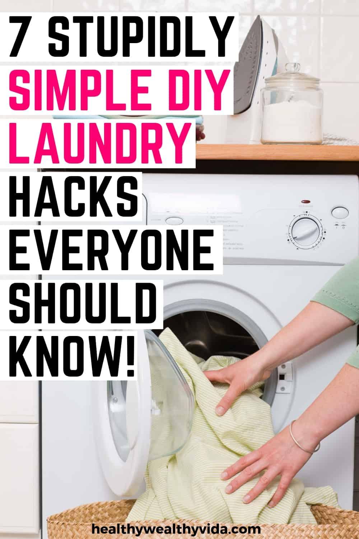 diy laundry hacks