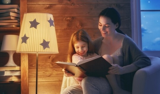 read aloud to child to connect with them