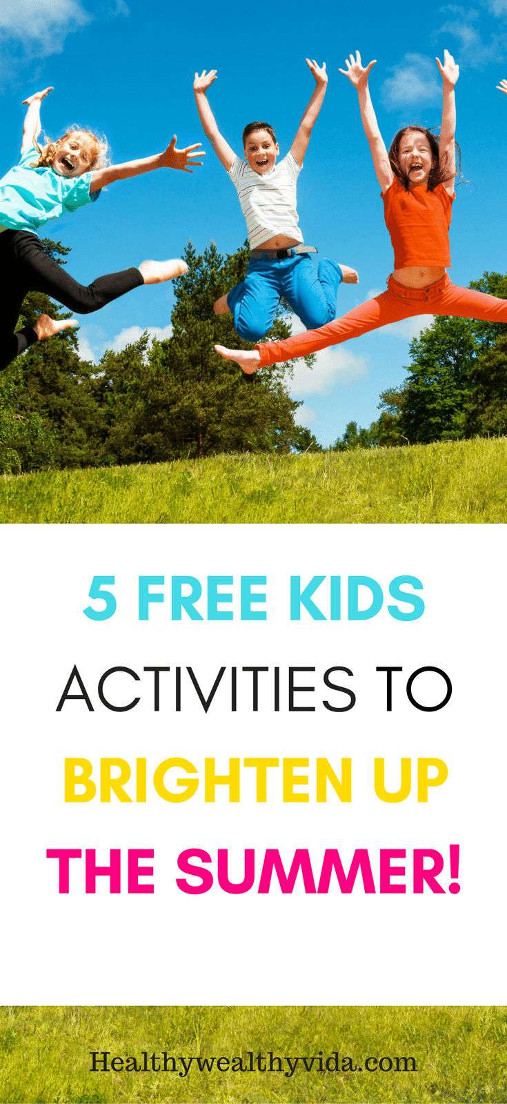 free kids activities for summer