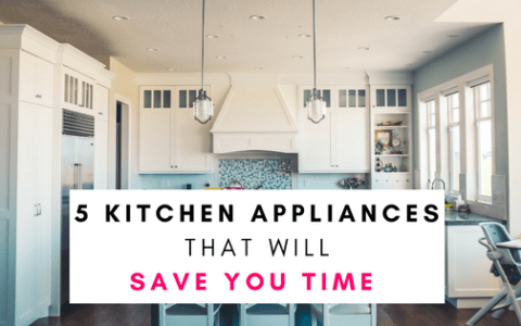 Kitchen Appliances That Will Save You Time