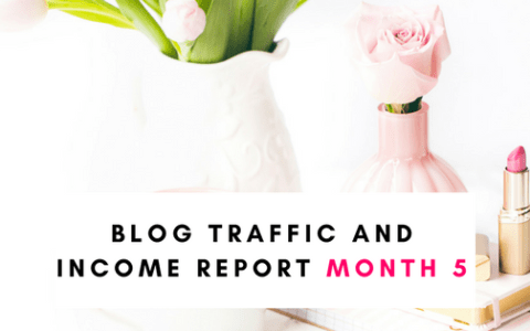 Blog Income and Traffic Report Month 5
