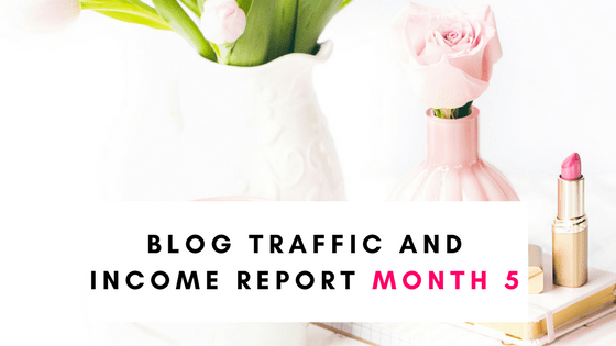 Blog Income and Traffic Report Month 5 September 2017