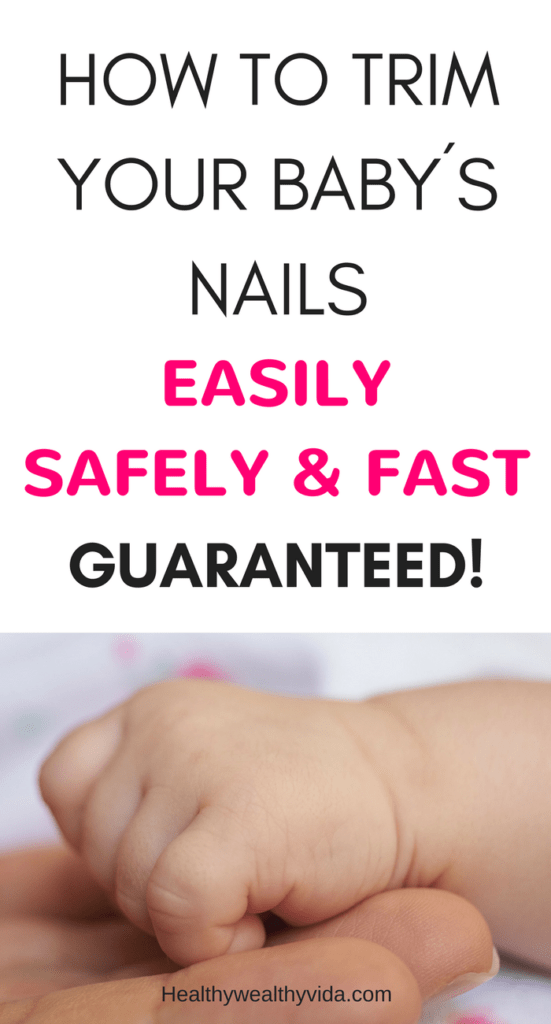 How to trim your baby´s or toddlers nails easily, safely and fast