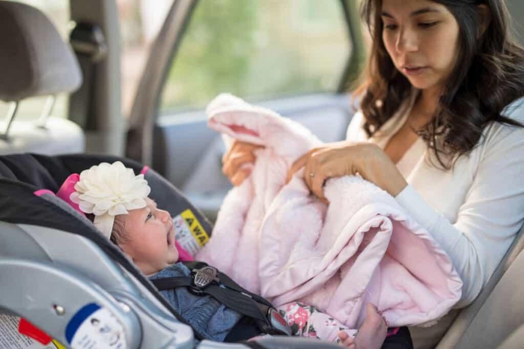 Baby In Car Extra Diaper Bag