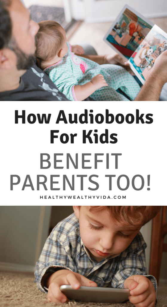 Audiobooks For Kids not only benefit children, but parents too! Find out the amazing benefits of audiobooks for the entire family