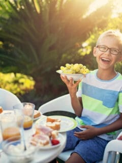 Foods that make kids happy and healthy