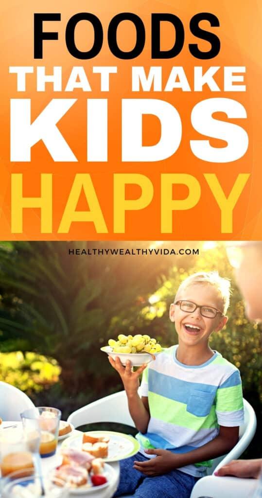 foods that make kids happy pin