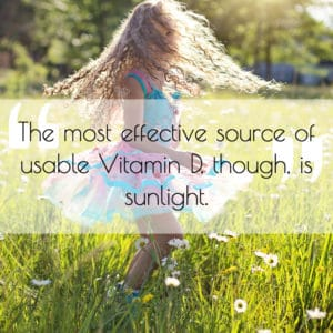 Nutrients for Children Vitamin D