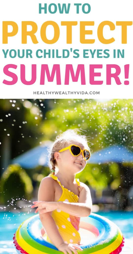 protect childs eyes in summer