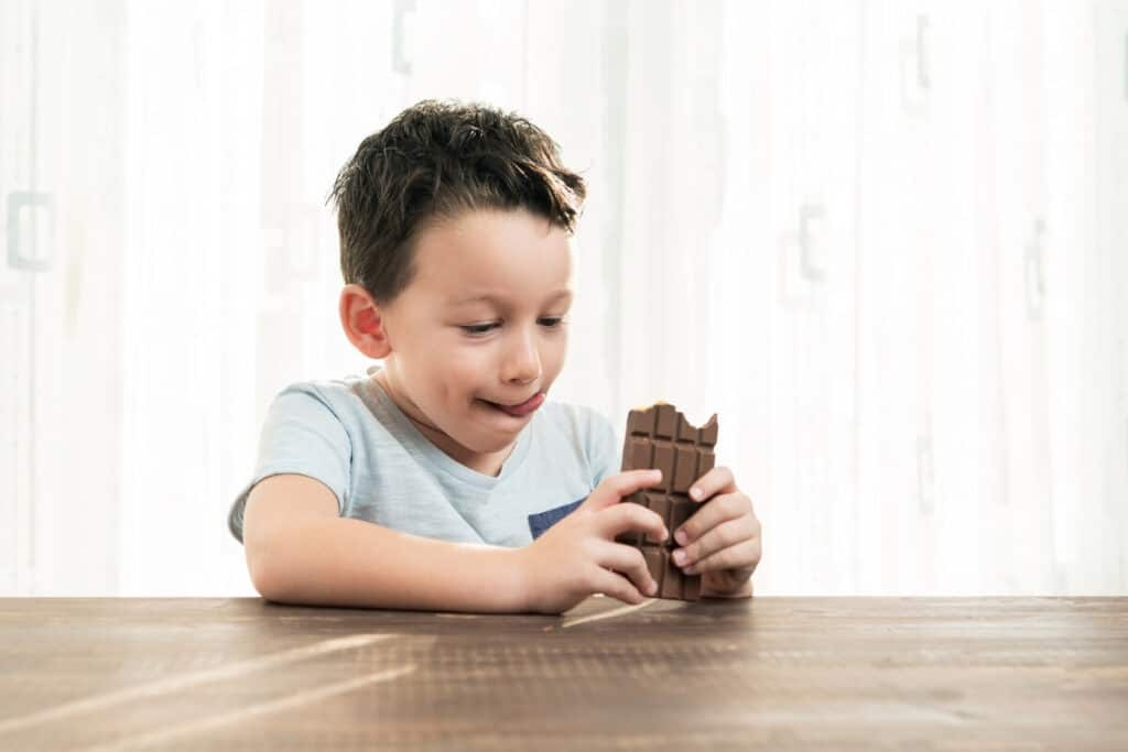 dark chocolate for eye health