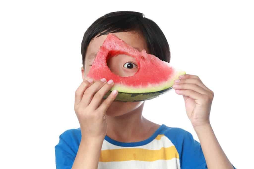 foods for kids eye health