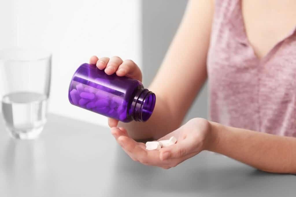 taking prenatal vitamins