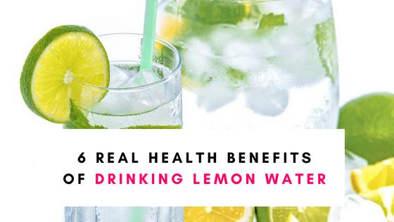 6 Real Benefits Of Drinking Lemon Water