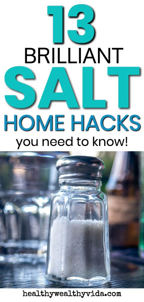 13 Brilliant Salt Home Hacks