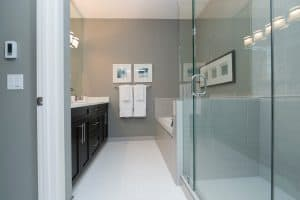 bathroom cleaning tips glass