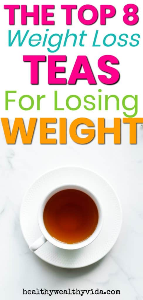 The Best Weight Loss Teas For Losing Weight