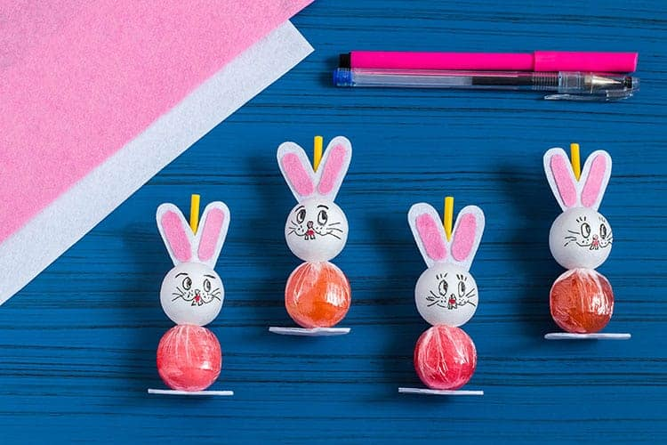 bunny lollipop craft