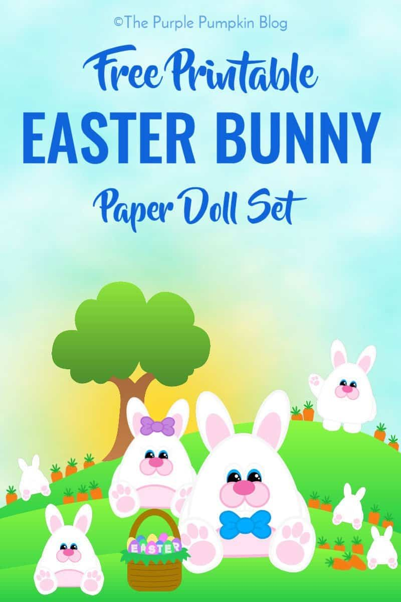 printable bunny for easter