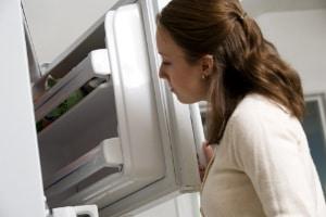 Freeze flour to kill weevil eggs
