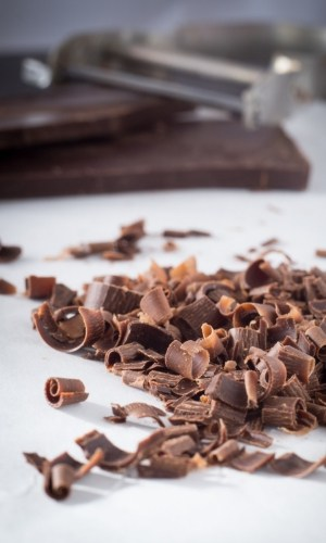 vegetable peeler chocolate