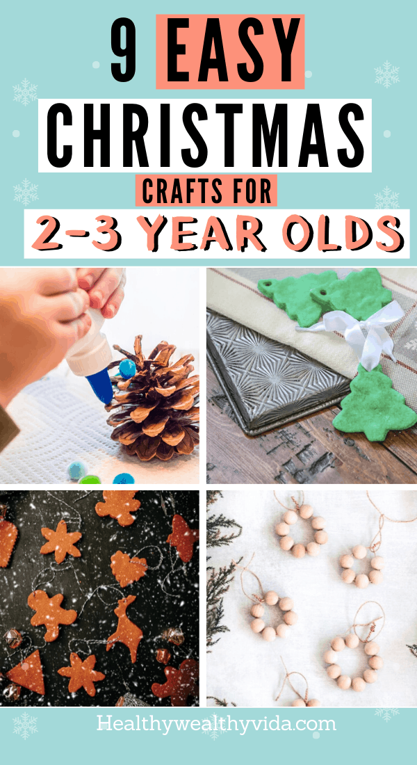 Christmas Crafts For 2 to 3 Year Old Toddlers