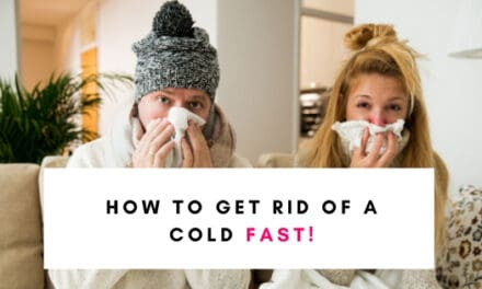 How To Get Rid Of A Cold (FAST)