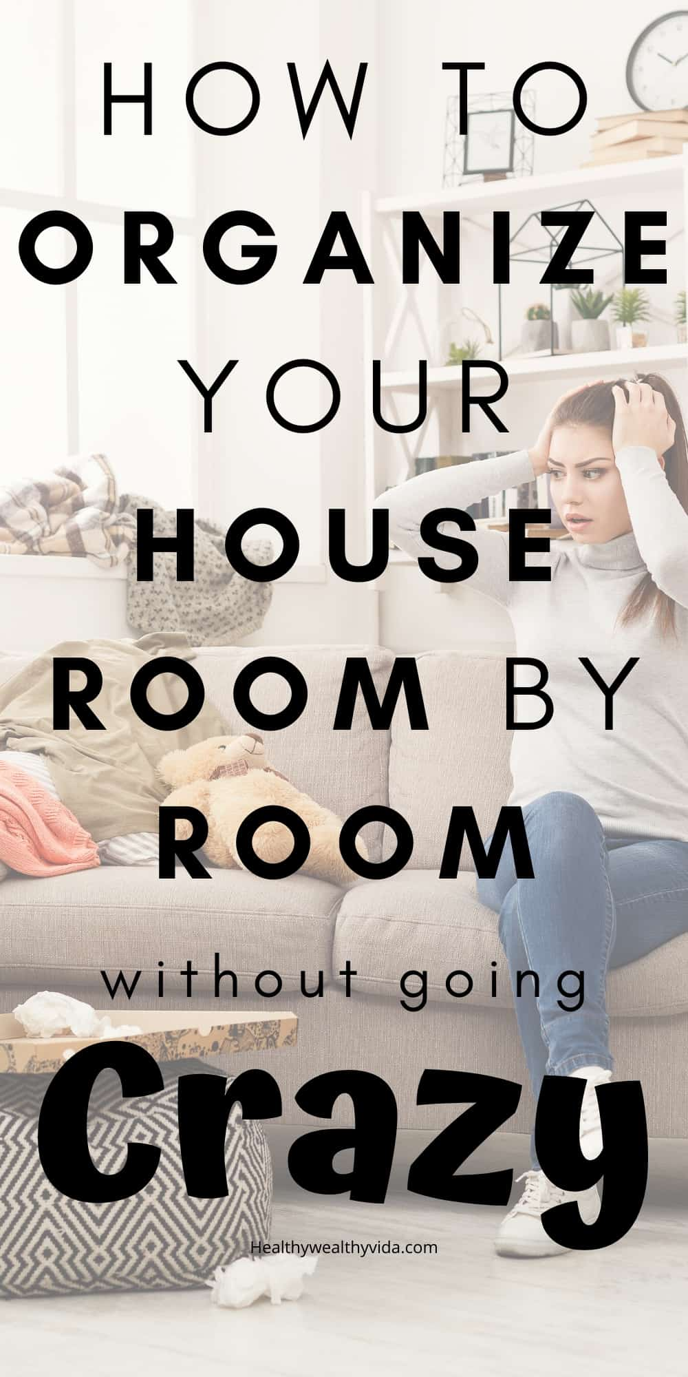 organize house room by room