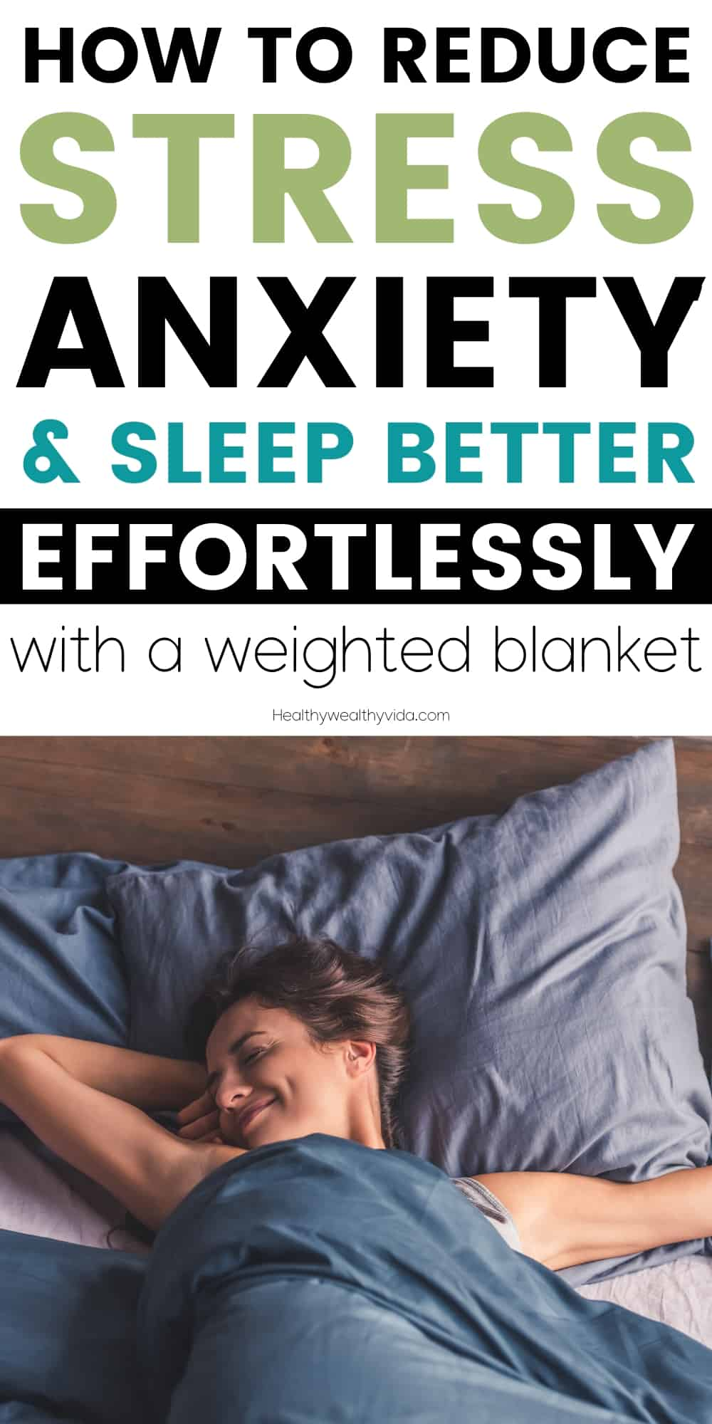 Weighted Blanket For Sleep, anxiety and sress