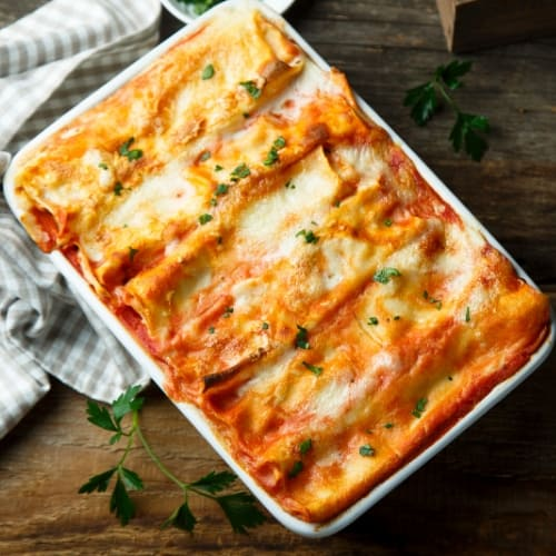 Super Easy, Healthy Spinach and Ricotta Lasagna