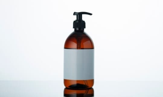 castile soap bottle